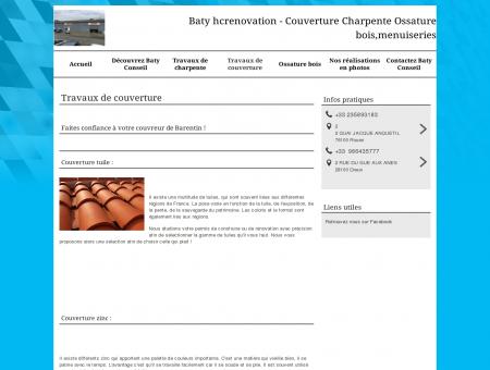 Baty Conseil - Travaux de couverture - Barentin