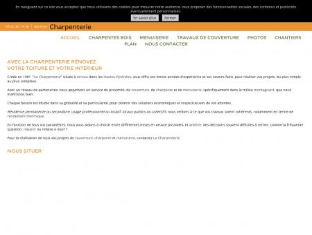 Couverture (entreprises) - Charpenterie à Arreau