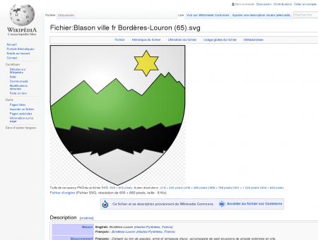 Fichier:Blason ville fr Bordères-Louron (65).svg ...