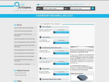Couvreur Bischwiller 67240