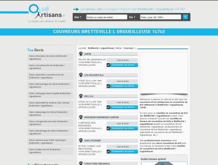 Couvreur Bretteville l orgueilleuse 14740