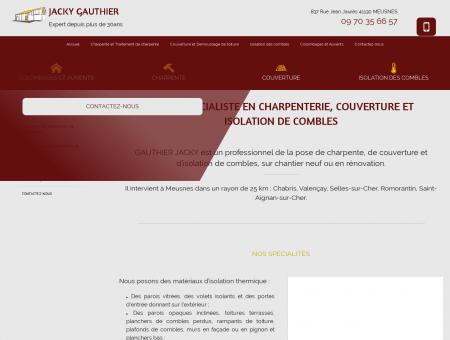 Couverture 41 - GAUTHIER JACKY : charpente,...