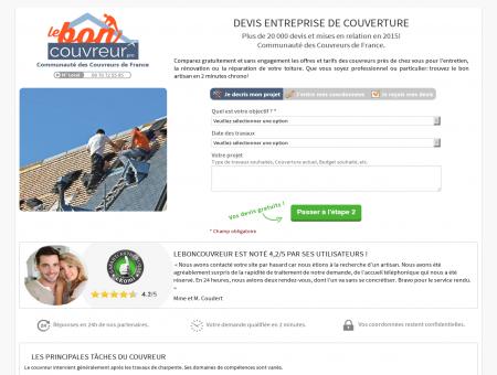 Couverture Boulogne - Besoin d'un Couvreur...