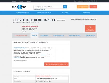 COUVERTURE RENE CAPELLE (SAINT...