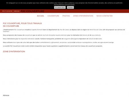 Couverture (entreprises) - P2C COUVERTURE à...
