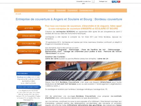 Entreprise de couverture à Soulaire et Bourg...