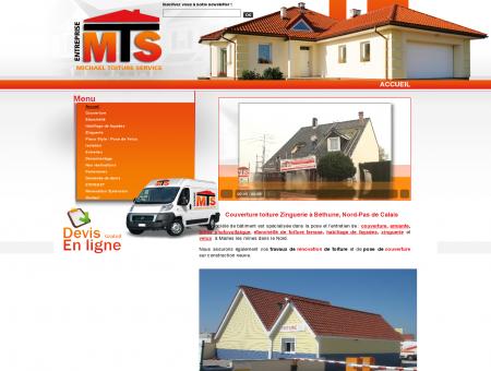 Couverture toiture à Béthune, Lille dans le...