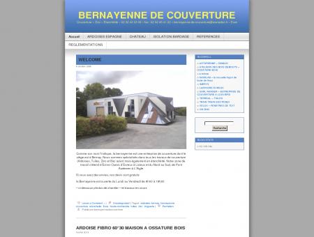 BERNAYENNE DE COUVERTURE | Couverture...