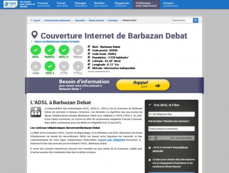 Couverture Internet de Barbazan Debat -...