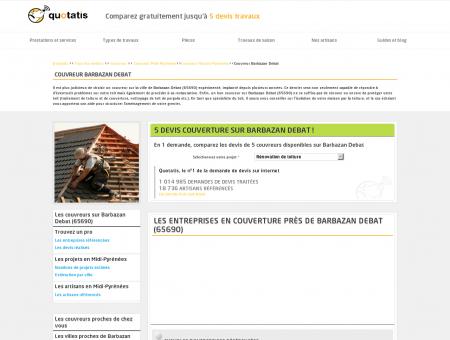 Couvreur Barbazan Debat - 5 devis gratuits