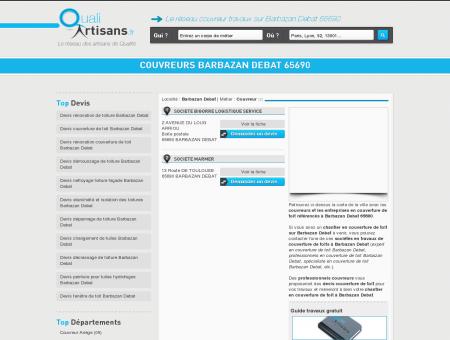 couvreurs Barbazan Debat 65690 - Couvreur