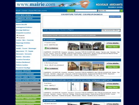 Couverture toiture / Couvreur Bagneux :...