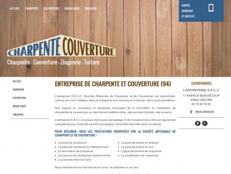 Charpente, couverture - Cachan | S.a.c.c