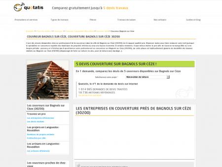 Couvreur Bagnols sur Cèze, Couverture...