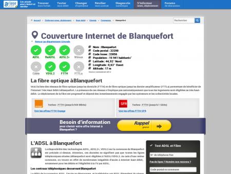 Couverture Internet de Blanquefort -...