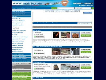 Couverture toiture / Couvreur Blanquefort :...