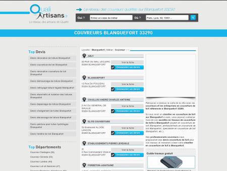 Couvreur Blanquefort 33290