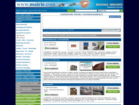 Couverture toiture / Couvreur Bagnolet :...