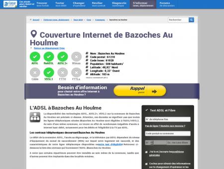 Couverture Internet de Bazoches Au Houlme