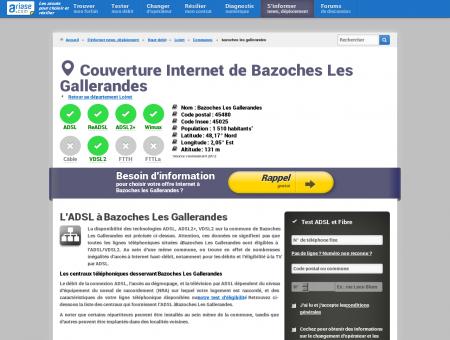Couverture Internet de Bazoches Les Gallerandes