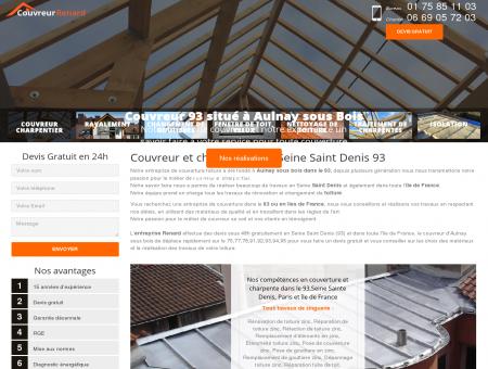 Couvreur toiture 93 à Aulnay sous bois