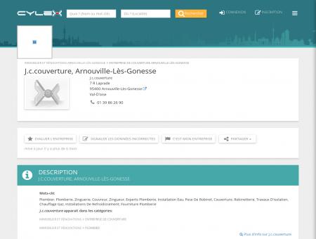 J.c.couverture, Arnouville-Lès-Gonesse, 7 R...