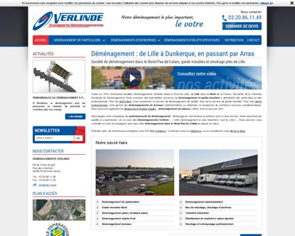 Déménagements Verlinde démenagement Lille...