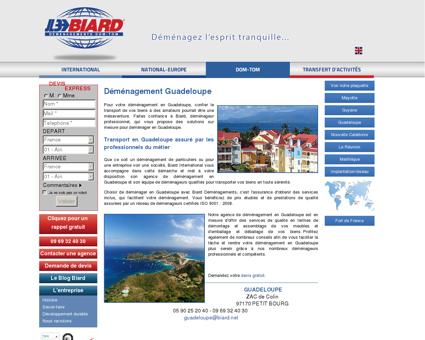 Demenagement en Guadeloupe : déménagez...