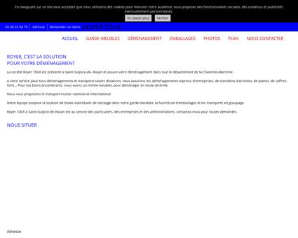 Accueil - Royer TDLR à Saint-Sulpice-de- Royan...