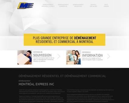 Accueil - Déménagement Montréal Express