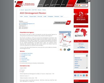 Déménagement Réunion | AGS...