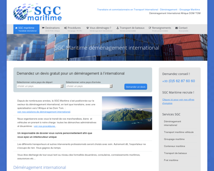 SGC Maritime transitaire maritime international ...