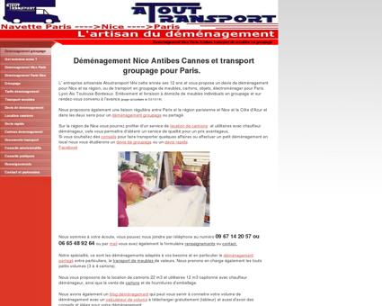 Demenagement transport - Groupage Nice...