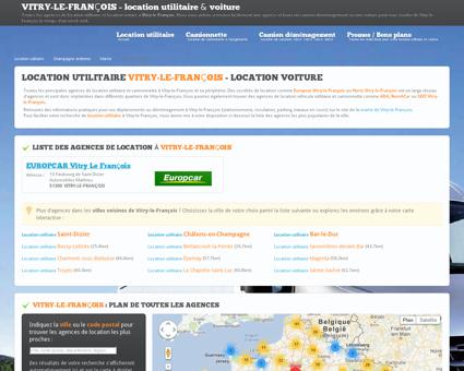 Location utilitaire VITRY LE FRANCOIS - camion...