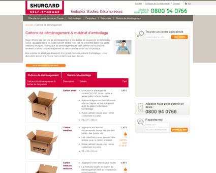 Cartons de déménagement, matériel...