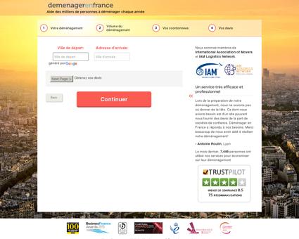 Aide au Déménagement - Comparez des Déménageurs Agrées!