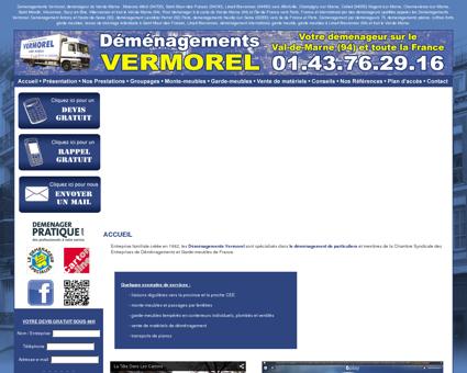 Déménagements Vermorel pour déménager...