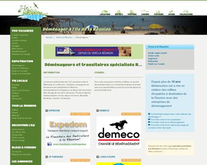 Déménagement à la Réunion : déménageurs et...