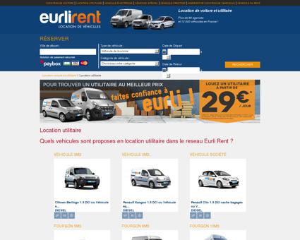 Location utilitaire - Eurlirent - Location voiture...