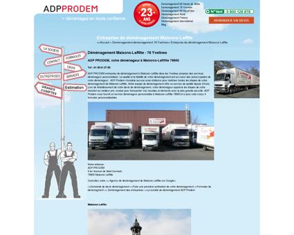Garanties de déménagement - ADP Prodem...