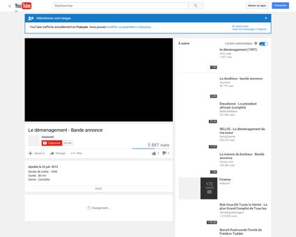 Le démenagement - Bande annonce - YouTube