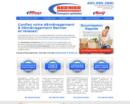Déménagement Bernier - Déménageurs...