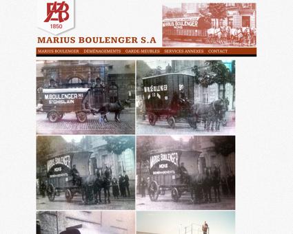 Déménagements Marius Boulenger : Présentation