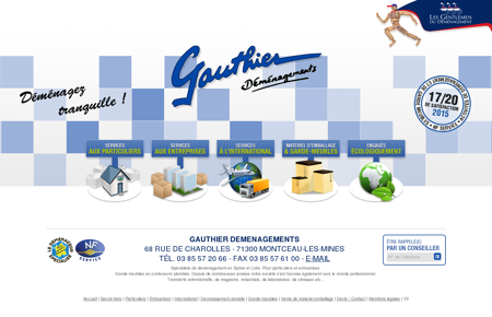 Gauthier Déménagements - Montceau Les...