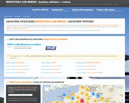 Location utilitaire MONTCEAU LES MINES -...