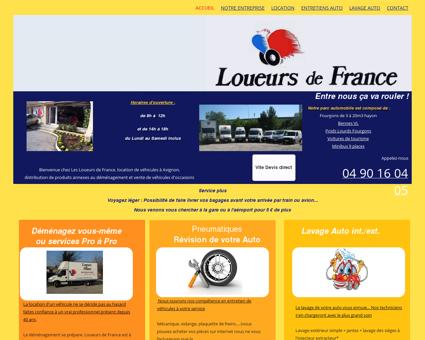 LOUEURS DE FRANCE - Location de tous...
