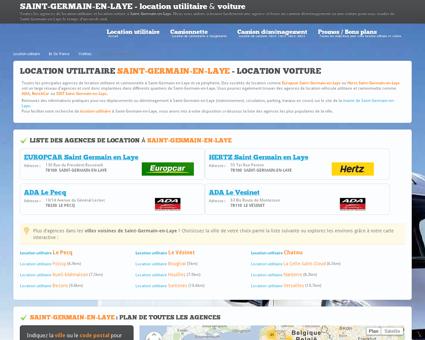 Location utilitaire SAINT GERMAIN EN LAYE -...