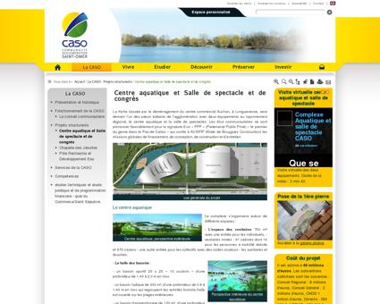 Centre aquatique et Salle de spectacle et de...