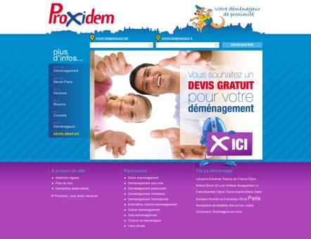 Devis demenagement PROXIDEM : Devis...
