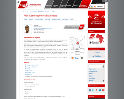 Déménagement Martinique | AGS...